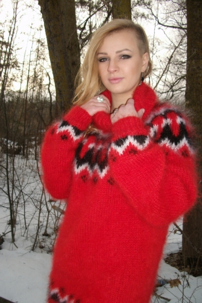 Find great deals on eBay for red angora sweater. Shop with confidence.