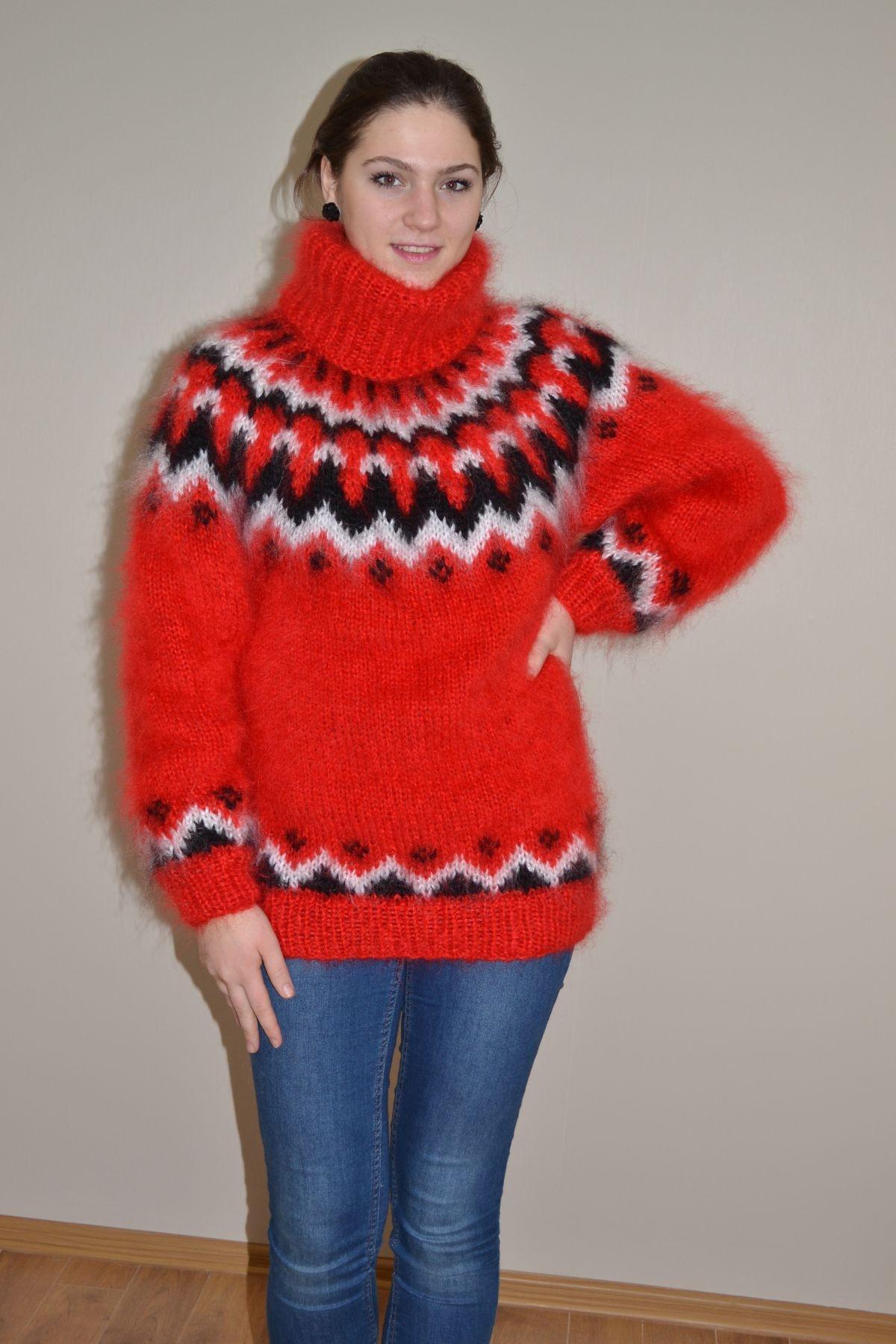 Icelandic Cardigan Sweater