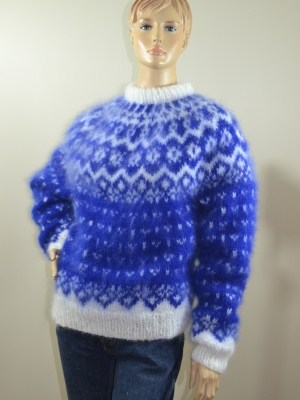 Vetur  Ingenue mohair  sweater rojal blue