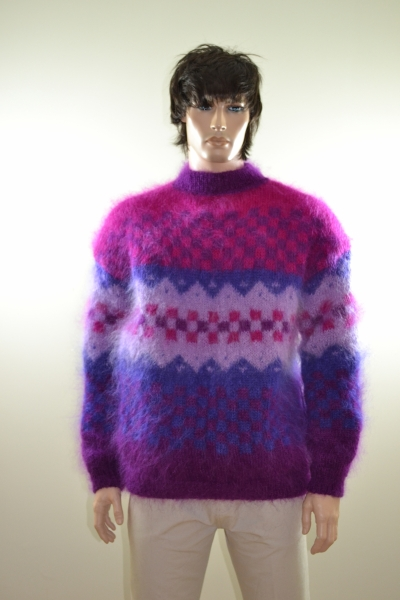 Two Hayfield mohair sweaters - www.mohairmagic.com