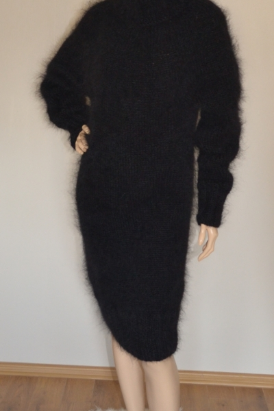 Black Mohair Sweater Dress Www Mohairmagic Com