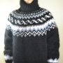 Double layer mega thick Icelandic mohair sweater