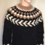 Icelandic mohair sweater black