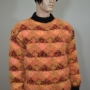 Neon norwegian crewneck mohair sweater and separate turtleneck